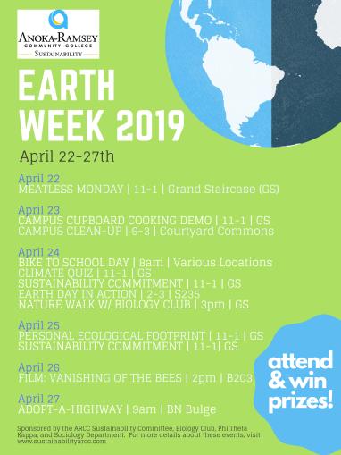Earth Week 2019 Poster