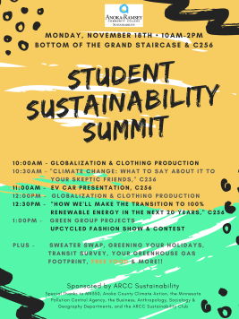 Student sustainability summit